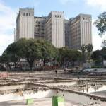 La Plaza Houssay está sufriendo una transformación integral