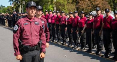 La Ciudad celebró el cuarto aniversario de la Policía local
