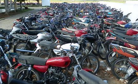 Motos que estão na 24ª Ciretram de Afogados serão levadas para o Recife