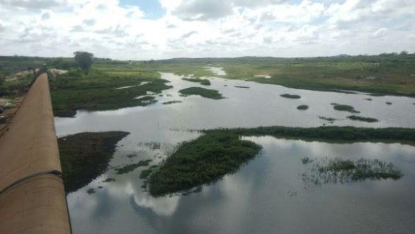 Barragem de Brotas inicia recuperação após as chuvas