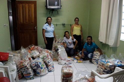 Ingresso Solidário: Rádio Pajeú já recebeu 1,7t de alimentos