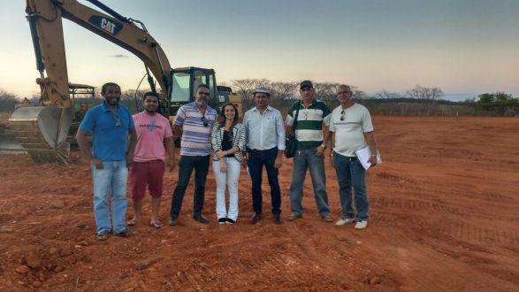 Adagro aprova terreno do Abatedouro Regional de Serra Talhada