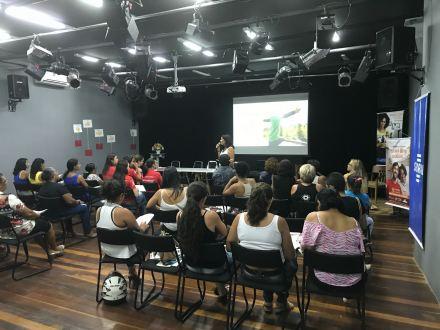 Mulheres trocam experiências sobre empreendedorismo em Serra Talhada