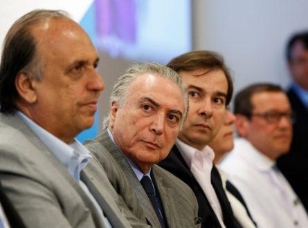 Governo decide fazer intervenção na segurança do Rio