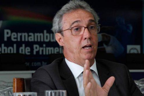 """Evandro Carvalho pede desculpas ao Afogados. """"Erro inconcebível ..."""