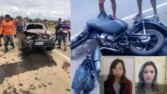Acidente deixa duas vítimas fatais na PE-320 em Afogados da Ingazeira