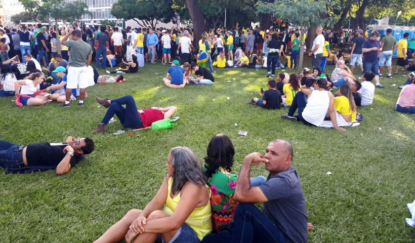 Governo estima em 115 mil o público presente na posse de Jair Bolsonaro