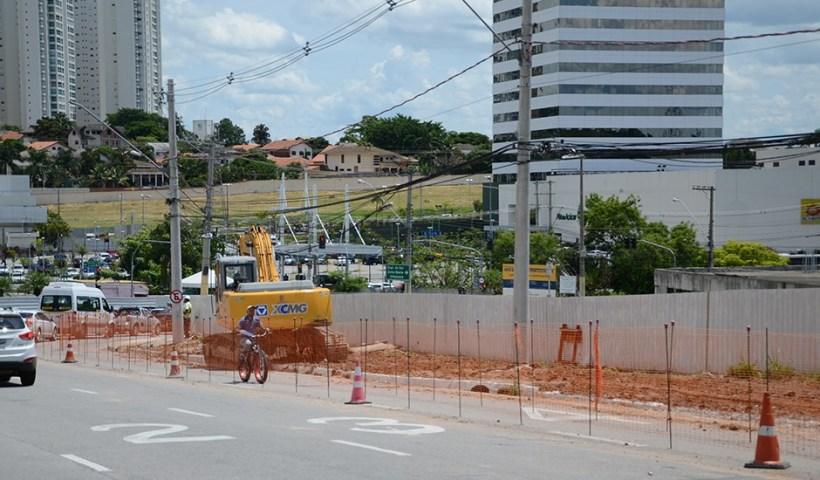 Trecho da avenida Jorge Zarur será interditado a partir de amanhã (14/02)