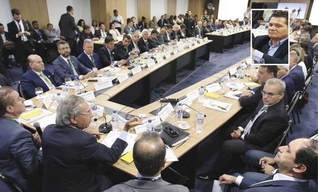 Izaias participa de reunião da Frente de Prefeitos com ministro da Economia