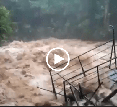 Chuva acima do normal causa estragos em São Francisco Xavier