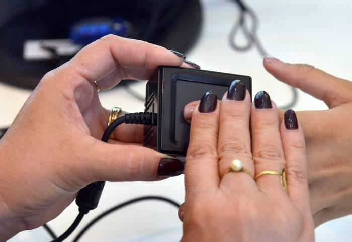 Cadastro biométrico