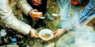 chiese di ostia, mensa poveri