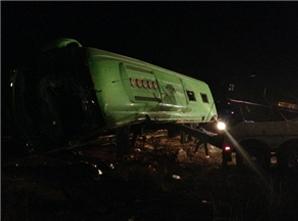 El camión de pasajeros de la línea Seris cubría la ruta de Nogales a Ciudad Obregón