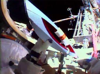 Aparece supuesto OVNI en vídeo de antorcha olímpica en el espacio