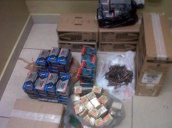 Asegura policía 11,500 cartuchos útiles en TAP de Hermosillo
