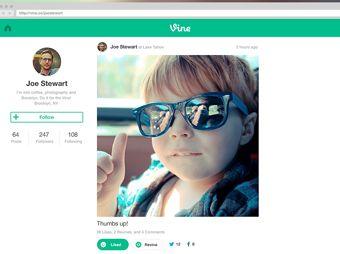 Introduce Vine perfiles a su sitio web