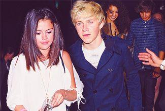Selena Gómez y Niall son captados juntos