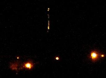 Avistamiento OVNI en Hermosillo resultó ser un globo y luces navideñas