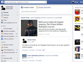 Facebook rediseña su imagen
