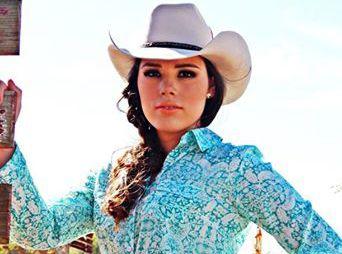 Gemma Olivarría, embajadora por Guaymas para Reinado de la Expo-Gan 2014. ¡Suerte muñecota!