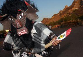 Indígenas yaquis celebran Sábado de Gloria
