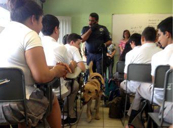 Realizan 'Operación Mochila' en Cobach Villa de Seris