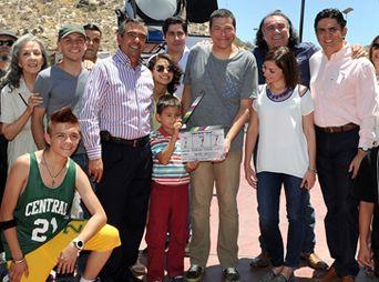 """Dan """"claquetazo"""" oficial en Hermosillo de la película 'Jeremías'"""