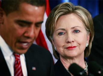 Entre las mujeres, Hillary Clinton goza de una popularidad del 61 por ciento, comparado con 44 por ciento para Obama