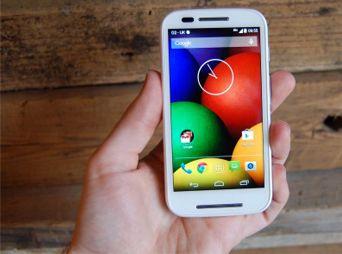Presentan 'Moto E', la apuesta de Motorola en la gama baja