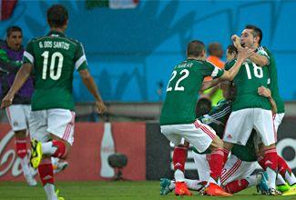 Alineación de México para enfrentar a Brasil