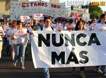 Marchan en Hermosillo a 5 años de la tragedia ABC