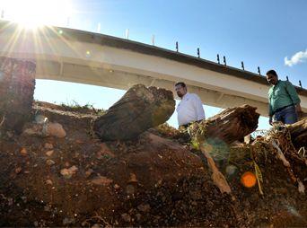 Evalúan daños por segunda tromba en Nogales