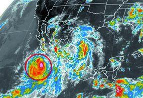 Alertan a 13 municipios de Sonora por huracán Norbert