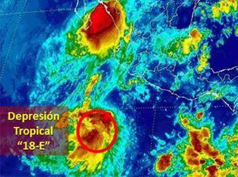 Se forma la tormenta tropical Rachel