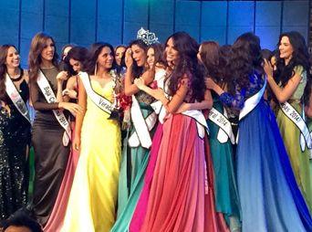 Wendolly Esparza es Nuestra Belleza México 2014
