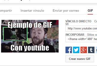 Pronto podrás crear GIF con Youtube