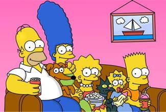 Transmitirán capítulo de Los Simpsons