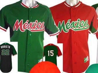 Este es el uniforme que usará México en la Serie del Caribe 2015