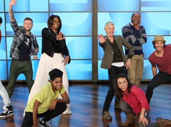 Ellen DeGeneres puso a bailar a Michelle Obama