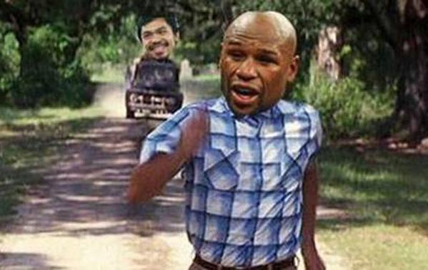 Los memes de Mayweather vs Pacquiao