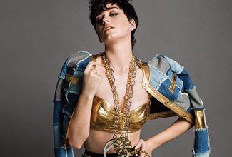 Te traemos la foto semidesnuda de Katy Perry, la cantante sorprendió con su nuevo look en la sesión fotográfica de la marca  Moschino.