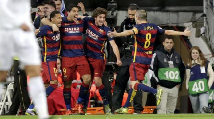 ¡Real Goliza! Los goles del Barcelona vs Real Madrid