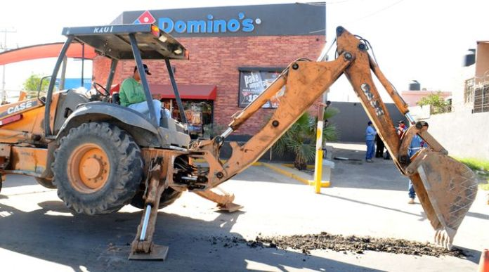 Cortan el agua a Dominos Pizza en Hermosillo