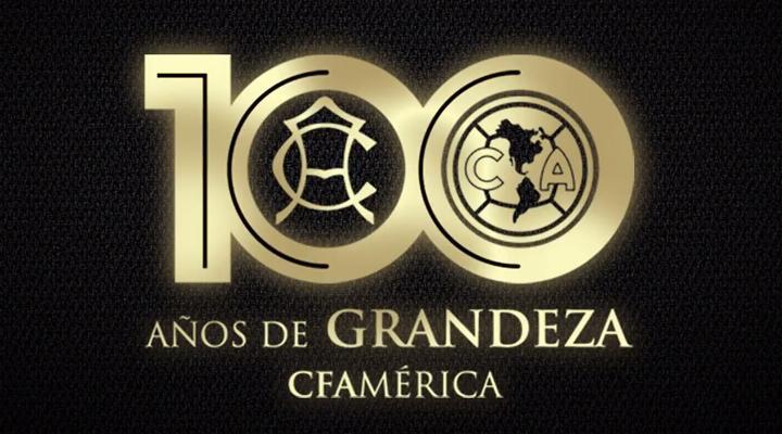Logotipo de los 10 años del América