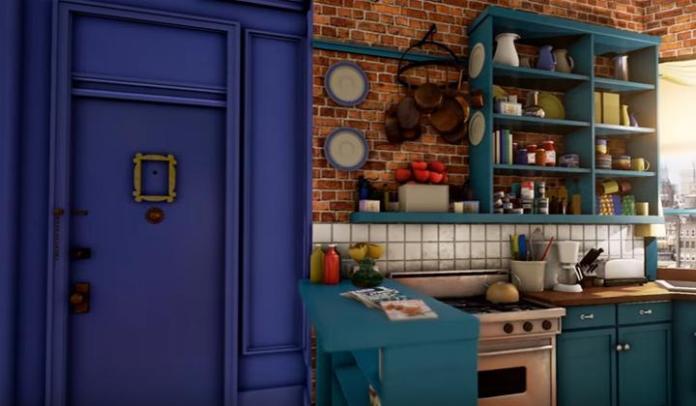Vídeo: Recorrido por el apartamento de Mónica de Friends