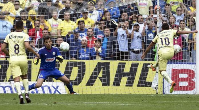 Goles de América vs Chivas juego de vuelta