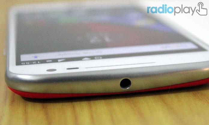 Entrada para Audífonos Moto G4 Plus