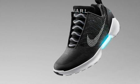 Estos son los Nike HyperAdapt, los tenis de Volver al Futuro