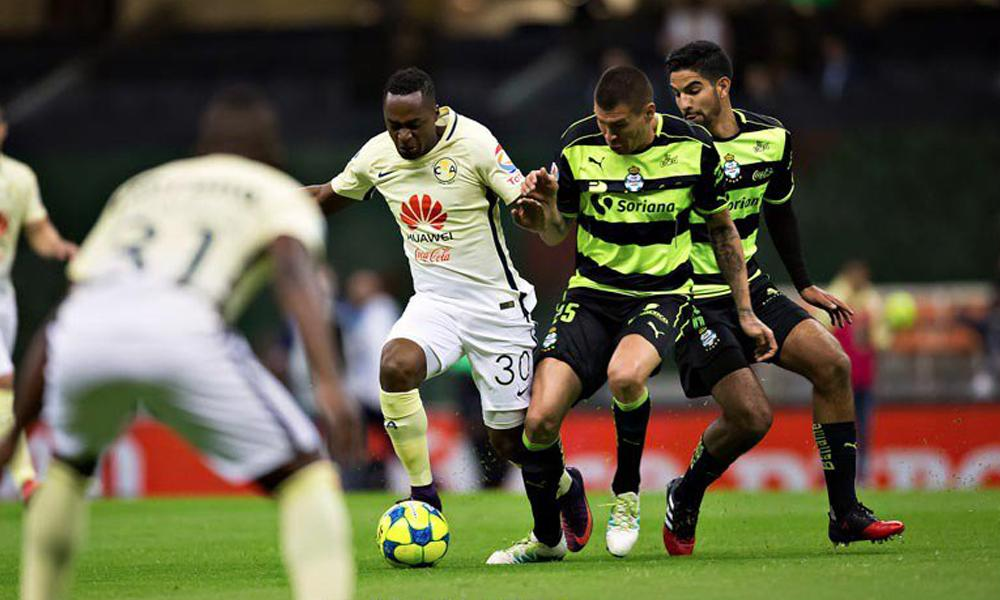 Resumen: Goles del América vs Santos Copa MX 2017