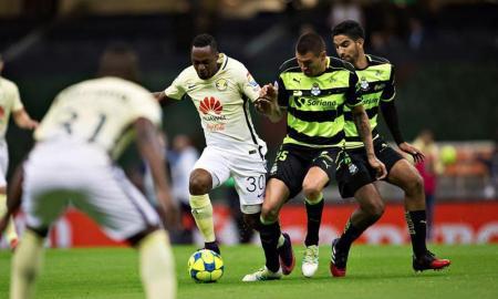 Goles del América vs Santos Copa MX 2017